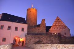 Burg castle Scharfenstein Drebach Chemnitz Royalty Free Stock Photos