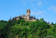 Burg at Cochem Stock Image