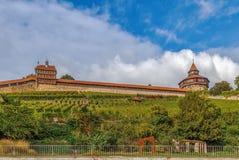 Burg de château d'Esslingen, Allemagne photographie stock