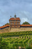 Burg de château d'Esslingen, Allemagne photo libre de droits