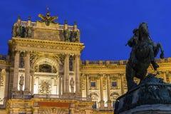 Burg de Neue à Vienne en Autriche photos libres de droits