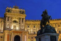 Burg de Neue à Vienne en Autriche image stock