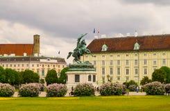 Burg de Neue de palais de Hofburg, Vienne images stock