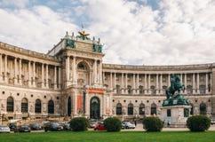 Burg de Neue ou nouveau château de palais de Hofburg, Vienne image libre de droits