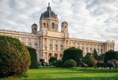 Burg de Neue ou nouveau château de palais de Hofburg, Vienne images stock