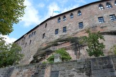 Burg de Nuremberg image libre de droits