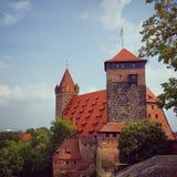 Burg de Nuremberg fotos de archivo libres de regalías