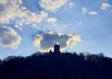 Burg ehrenberg stockfotos