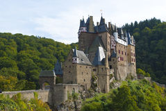 Burg Eltz. A castle in the Moselle region, Germany Royalty Free Stock Photos