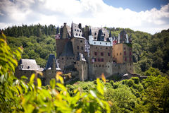Burg Eltz. Castle Eltz in Germany near the Mosel River Stock Photography