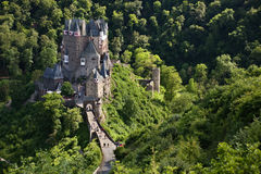 Burg Eltz. Castle Eltz in Germany near the Mosel River Stock Images