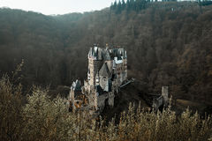 Burg Eltz. Eltz Castle from above Royalty Free Stock Images