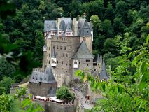 Burg Eltz castle stock photography