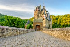 Burg Eltz castle in Rhineland-Palatinate, Germany. Stock Image
