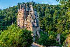 Burg Eltz castle in Rhineland-Palatinate, Germany. Burg Eltz castle in Rhineland-Palatinate state, Germany. Construction startedprior to 1157 Stock Image
