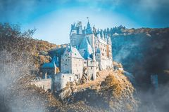 Burg Eltz castle in Rhineland-Palatinate, Germany royalty free stock photo