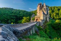 Burg Eltz castle in Rhineland-Palatinate, Germany. Burg Eltz castle in Rhineland-Palatinate state, Germany. Construction startedprior to 1157 Royalty Free Stock Photos
