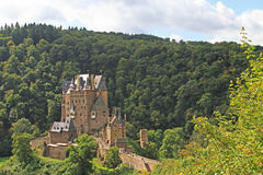 Burg Eltz. Is a medieval castle nestled in the hills above the Moselle River between Koblenz and Trier, Germany Royalty Free Stock Photography