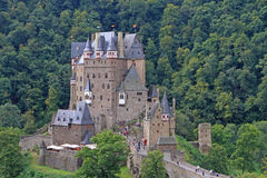 Burg Eltz. Is a medieval castle nestled in the hills above the Moselle River between Koblenz and Trier, Germany Stock Photo