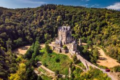 Castle Eltz Germany Stock Photography