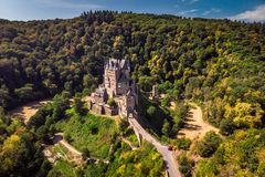 Castle Eltz Germany royalty free stock photography