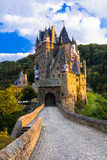 Burg Eltz - one of the most beautiful castles of Europe. Germany. Beautiful Burg Eltz,impressive old castle,Germany Royalty Free Stock Photos