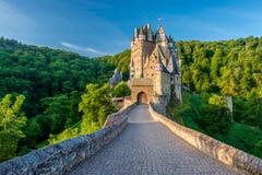 Burg Eltz-Schloss in Rheinland-Pfalz, Deutschland stockbilder