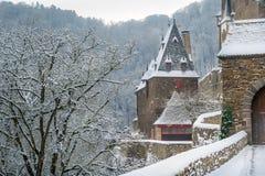 Burg Eltz towers Royalty Free Stock Photos