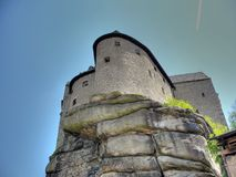 Burg Falkenberg en Bavière Image libre de droits