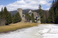 Burg Finstergrun Stock Photo