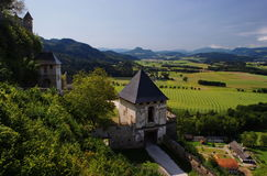 Burg Hochosterwitz photos libres de droits