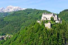 Burg Hohenwerfen en Werfen, Austria foto de archivo