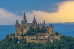 Burg Hohenzollern Stockfoto