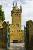 Burg Hohenzollern-Schloss Stockfotos