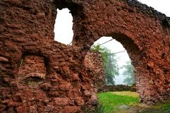 Burg Hohnstein ruins in Harz Neustadt Germany Royalty Free Stock Images