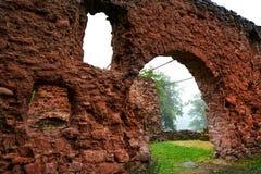 Burg Hohnstein ruiny w Harz Neustadt Niemcy Obrazy Royalty Free