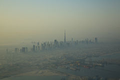 Burg Khalifa Building de Dubaï de l'air Photos libres de droits