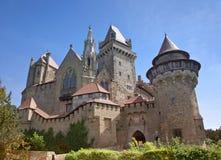 Burg Kreuzenstein royalty-vrije stock afbeelding