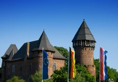Burg Linn. In Krefeld, Germany Royalty Free Stock Image