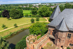 Burg Linn Park in Germany near Dusseldorf Royalty Free Stock Image