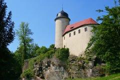 Burg Rabenstein Chemnitz -, Niemcy Fotografia Royalty Free