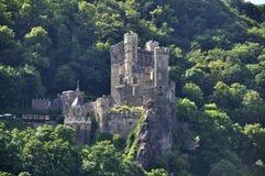 Burg Rheinstein royalty-vrije stock afbeeldingen