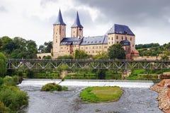 Burg Rochlitz, Duitsland stock foto