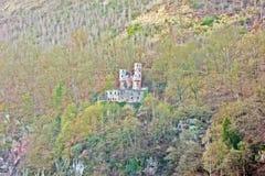 Burg Schadeck appelé par château images stock