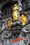 Burg Square4 - Bruges, Bélgica Imagens de Stock