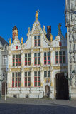 The Burg square in Bruges Royalty Free Stock Photo
