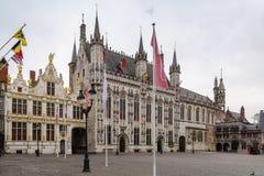 Burg square in Bruges, Belgium Stock Photo
