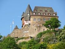 Burg Stahleck royalty-vrije stock afbeelding