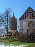 Burg Stargard Fotos de Stock Royalty Free