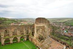 Burg Stolzenburg Slimnicului de Paesant Photo stock